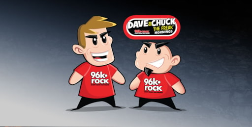 96k Rock Welcomes Dave And Chuck The Freak