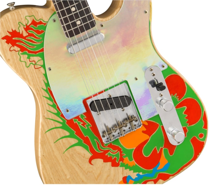 Fender announced in October 2018 they would be partnering with Jimmy Page to release four new artist signature models recreating Page's 1959 Fender Telecaster. Three months later, the guitar giant has released new photos of the Signature Telecaster. (Surprise! They're stunning!) Page used the '59 Fender Telecaster while in The Yardbirds and to record Led…