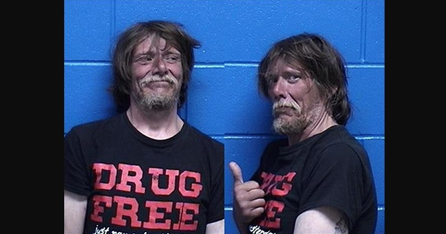 Man Wearing 'Drug Free' T-Shirt Arrested on...You Guessed It Drug ...